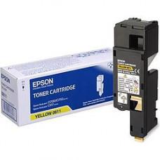 тонер картридж EPSON C1700 (C13S050611) (желтый)