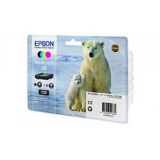 картридж 26 серии EPSON Multy Pack (CYMB)