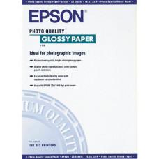 41126 Глянцевая фотобумага EPSON Photo Quality Glossy Paper A4 (20 листов,140г/м2) (C13S041126BR)