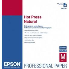 42320 Матовая фотобумага EPSON Fine Art Paper Hot Press Natural A3+ (25л., 330 г/м2) (C13S042320)