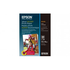 400037 Фотобумага EPSON Value Glossy Photo Paper 10x15 (20 листов, 183 г/м2) (C13S400037)