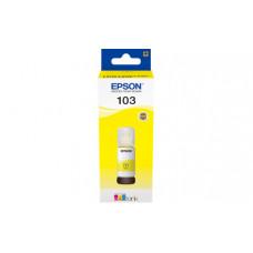 T00S4 Контейнер с желтыми чернилами EPSON для L3100/3101/3110/3150/3151 (C13T00S44A)