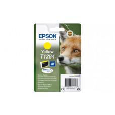 EPSON T1284 Картридж желтый для S22/SX125/SX425/BX305 (C13T12844012)