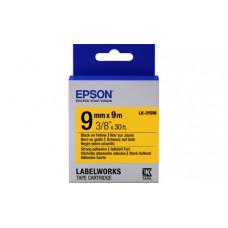 653005 Картридж EPSON с лентой LK3YBW (лента повышенной адгезии, черн./желт. 9/9) (C53S653005)
