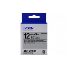 654019 Картридж EPSON с лентой LK-4SBM (лента металлик 12мм, Серебр./Черн. для LW-300/400/400VP/700/900P) (C53S654019)