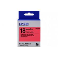655002 Картридж EPSON с лентой LK5RBP (лента пастел., черн./красн. 18/9) (C53S655002)