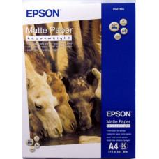 41256 Матовая фотобумага EPSON Matte Paper-Heavyweight A4 (50 листов, 167 г/м2) (C13S041256)
