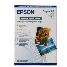 41340 Матовая фотобумага EPSON Archival Matte Paper A3+ ( 50л., 192 г/м2) (C13S041340)