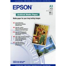 41344 Матовая фотобумага EPSON Archival Matte Paper A3 ( 50л., 192 г/м2) (C13S041344)