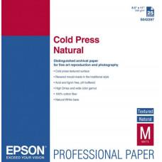 42300 Матовая фотобумага EPSON Fine Art Paper Cold Press Natural A3+ (25л., 340 г/м2) (C13S042300)