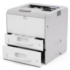 Монохромный светодиодный принтер Ricoh SP 400DN (A4, 256Мб, 30 стр/мин, дуплекс, LAN, PS, лоток 250+100, старт.картридж 1 500 стр.)